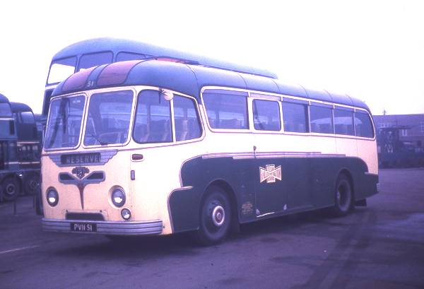 1957 Leyland Tiger Cub PSUC1-2 built in with Roe Dalesman C41C bodywork