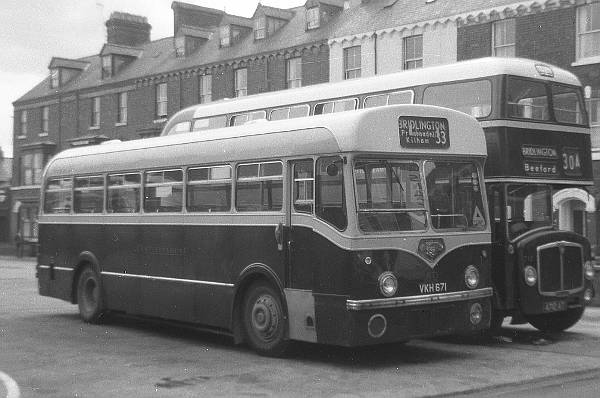 1957 Leyland Tiger Cub with Roe 39 seat body
