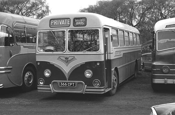 1958 AEC 2MU3RV Reliance with a Roe DP41F body