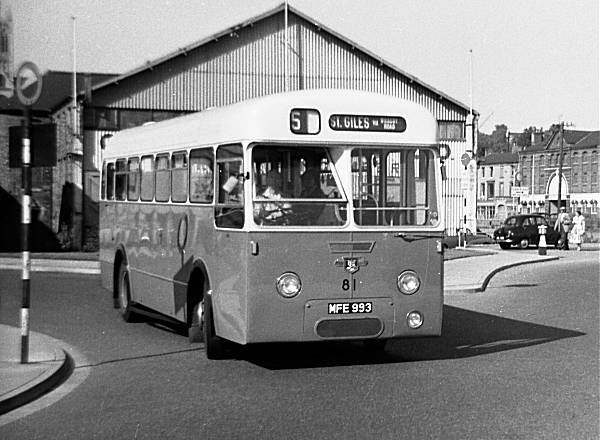 1958 Leyland Tiger Cub PSUC1-1 with Roe B41D body