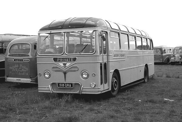 1958 Roe DP41F bodied AEC MU3RV Reliance