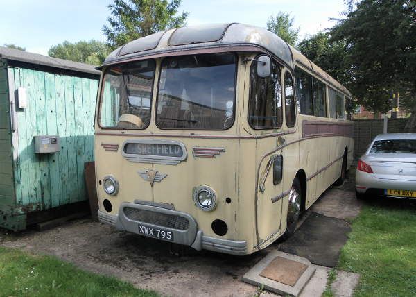 1959 AEC Reliance with Roe Dalesman coach body