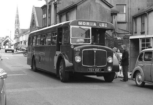 1959 Roe B37F bodied AEC Regent Vs