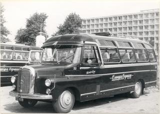 1959 Roset Mercedes Benz TB 17 47 Europa Express Vermaat 53 a