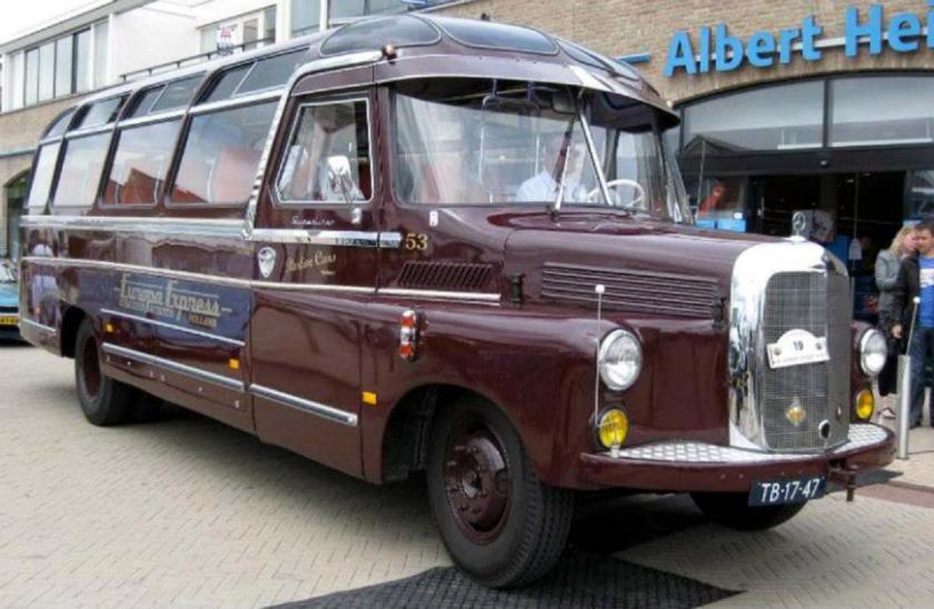 1959 Roset Mercedes Benz TB 17 47 Europa Express Vermaat 53