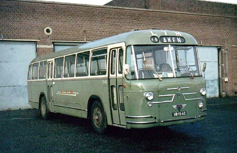 1961 leyland roset ltm 5743