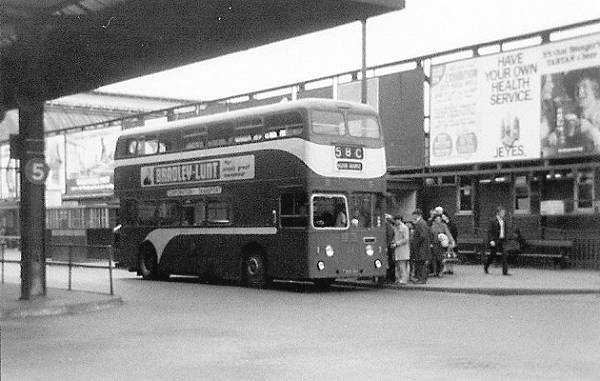 1961 Roe bodied Leyland Atlantean PDR1-1