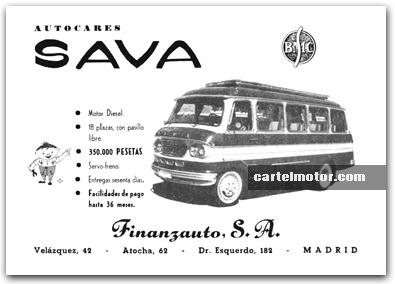 1961 SAVA BUS S70