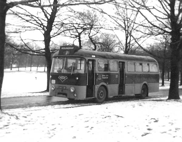 1962 AEC Reliance with Roe 41 seat dual door body