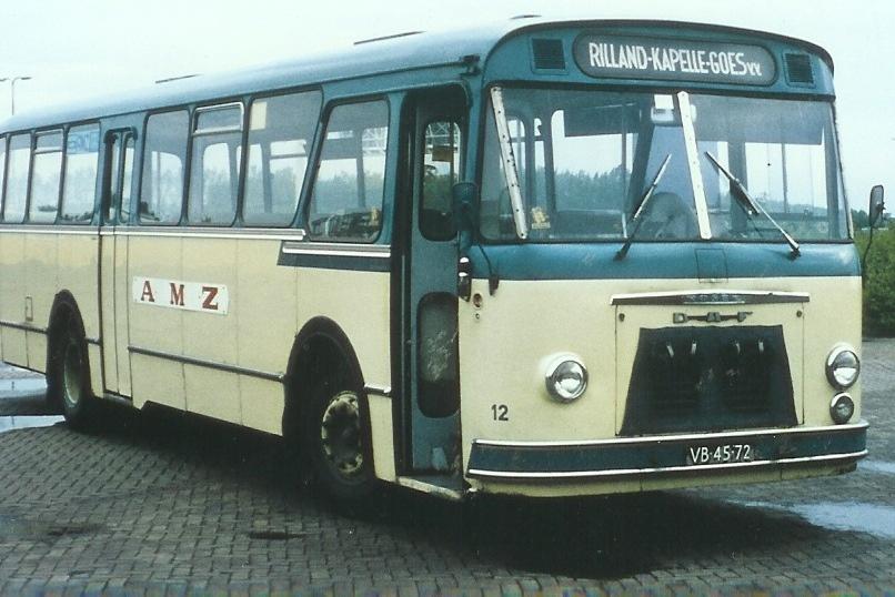 1962 DAF MB 200 carr. Roset