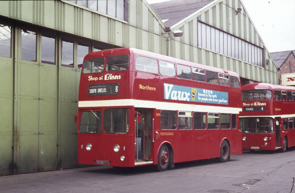 1962 Leyland Atlantean PDR1-1 with Roe H44-33F bodywork