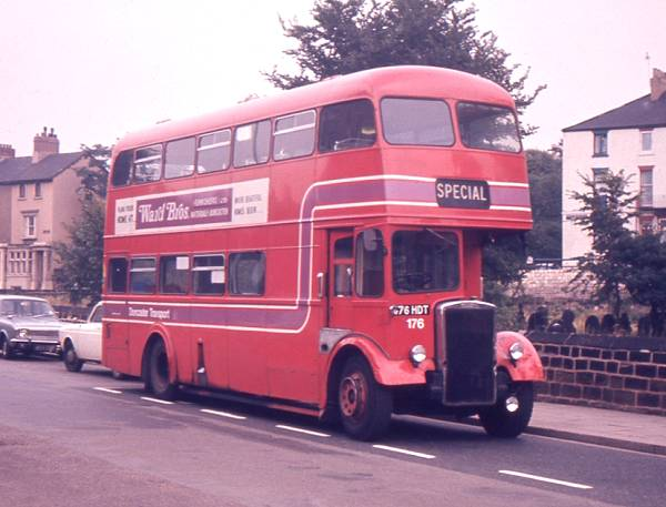 1962 Leyland PD3-4 with Roe H38-32F bodywork