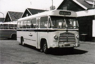 1962 Saurer 4CT1D Saurer carr Den Oudsten GTW 355