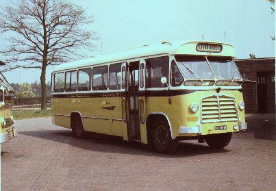 1962 Saurer 4CT1D Saurer carr Den Oudsten GTW 360