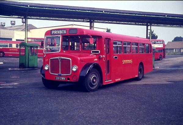 1963 AEC Regent V with Roe B37F body