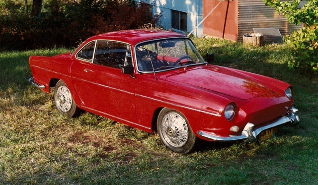 1963 Renault Caravelle S Convertable Hard Top