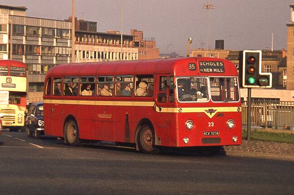 1963 Roe B44F bodied AEC Reliances