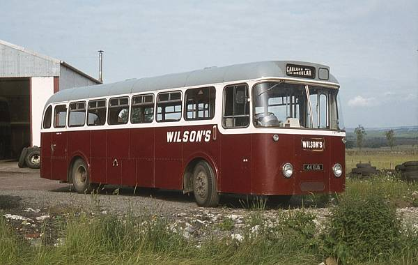 1964 AEC Reliance 2MU3RA with Roe B41D bodywork