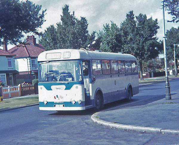 1964 Daimler Freeline  Roe DP43F