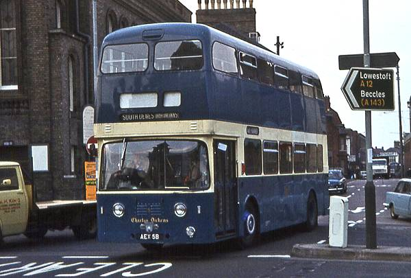 1964 Leyland Atlantean PDR1-1 with Roe H43-33F