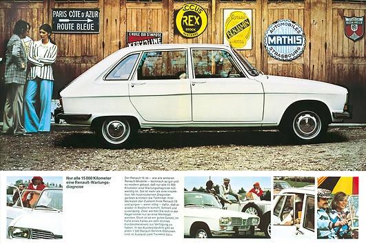 1964 Renault 16 is geproduceerd van 1964 tot 1980