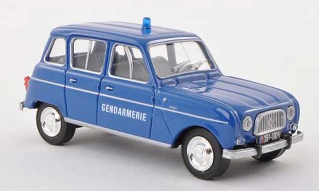 1964 Solido. Renault 4L Gendamerie