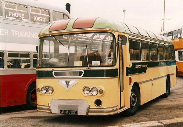 1965 AEC Reliance and had it fitted with a neat Roe coach body