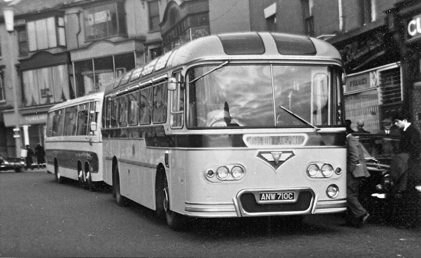 1965 AEC Reliance with a Roe C37F body