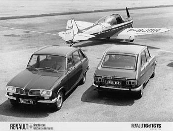 1965 Renault 16 is geproduceerd van 1964 tot 1980
