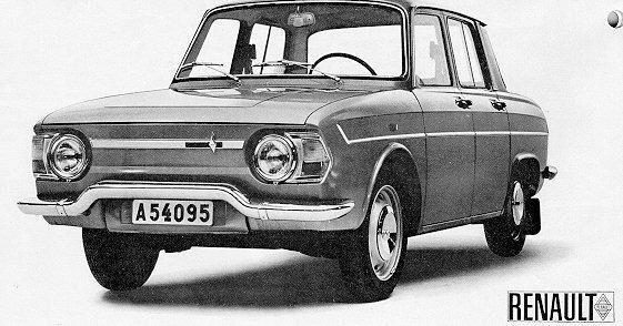 1965 Renault R-10