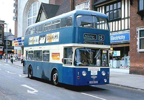 1966 Leyalnd Atlantean PDR1-2 with Roe H38-27F body