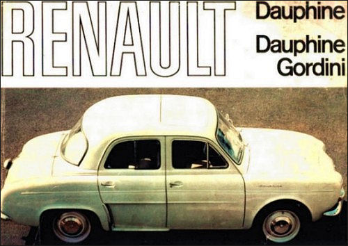 1966 renault 1966 dauphine gordini