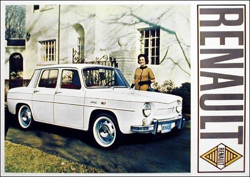 1966 Renault 8 Deluxe