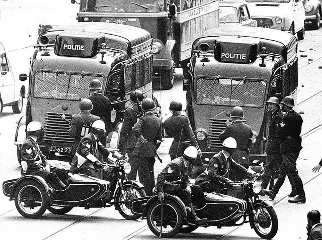 1966 Renault Goelette BMW motoren Politie
