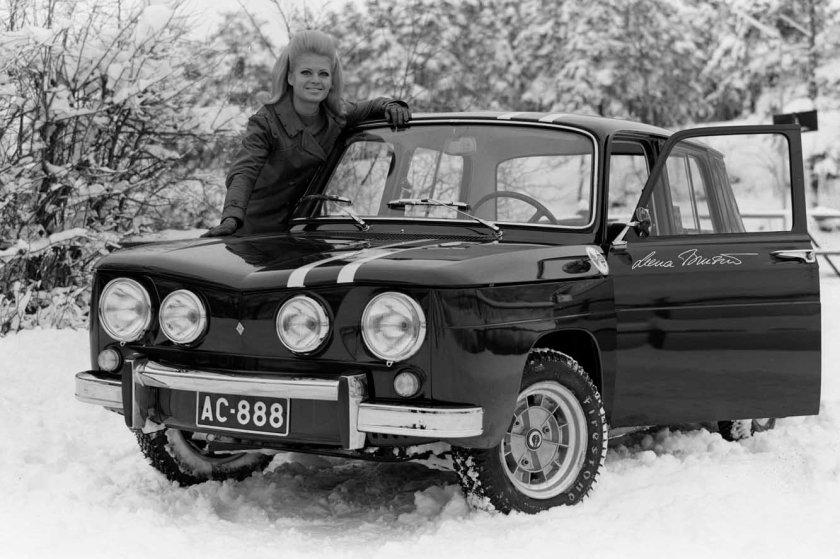 1966 Renault R8 Gordini 007