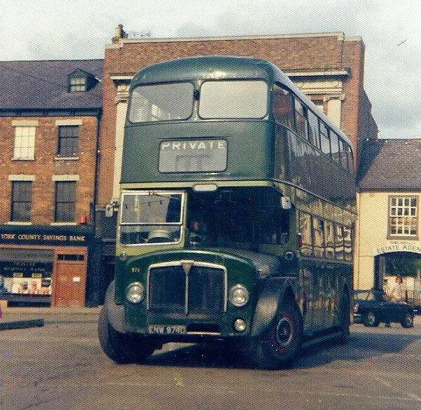 1966 Roe bodied example and one of Leeds last AEC deckers