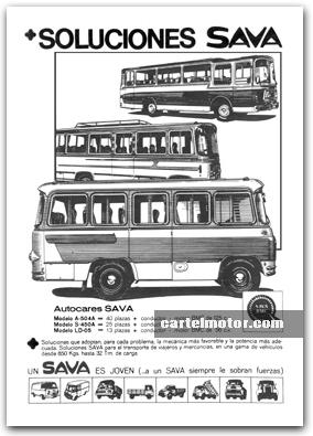 1966 SAVA BUS