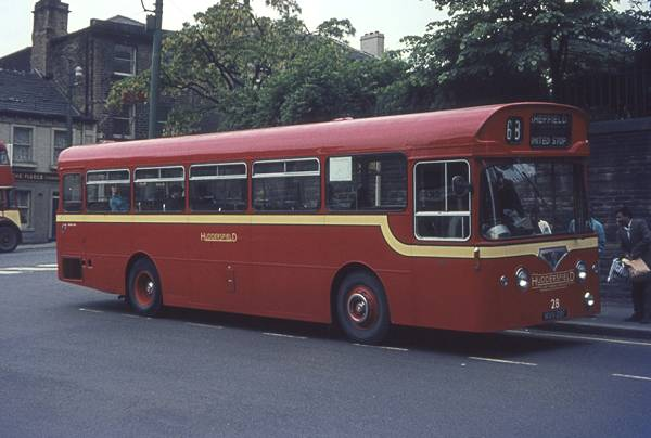1967 AEC Swift MP2R with Roe B44F body