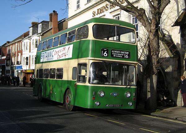 1967 Leyland Atlantean PDR1-2 with Roe H43-33F body