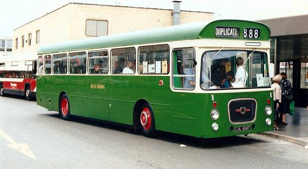 1967 Leyland Panther with Roe bodywork