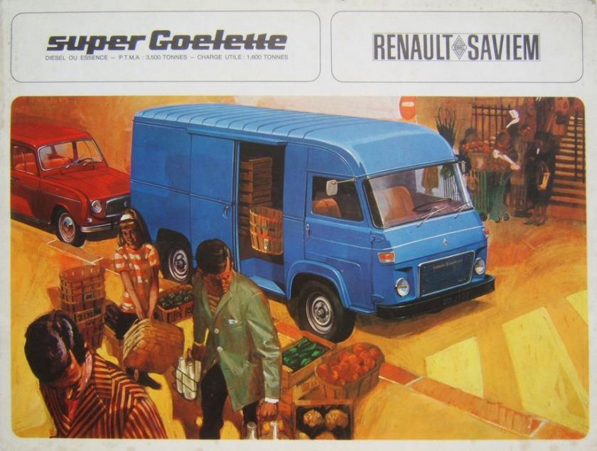1967 Renault SG2 Super Goelette