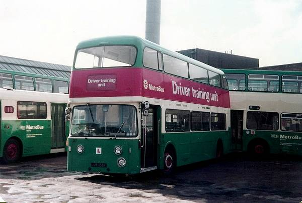 1967 was this Daimler Fleetline with 33 foot Roe bodywork with panoramic windows