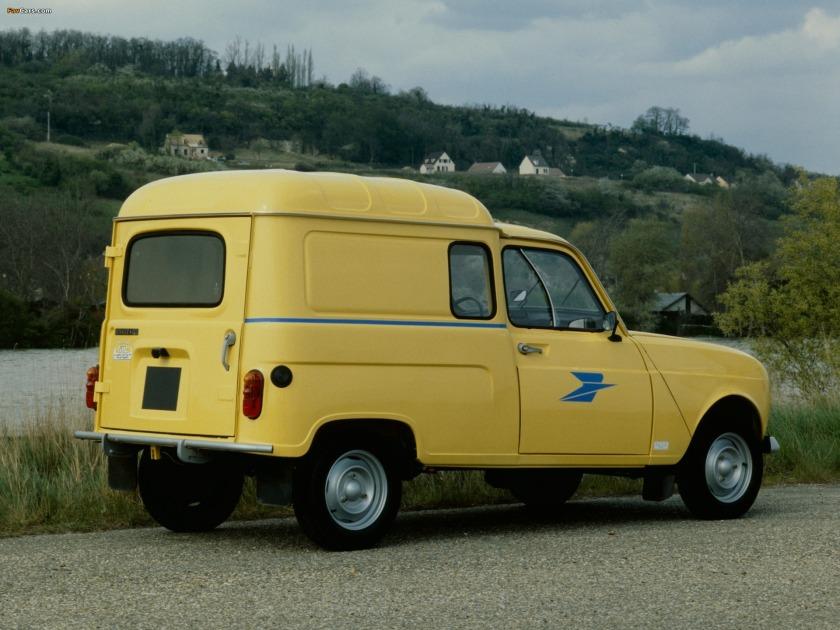 1967–74 Renault 4 Fourgonnette