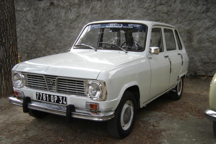 1968-73 Renault 6 (1968–1973)