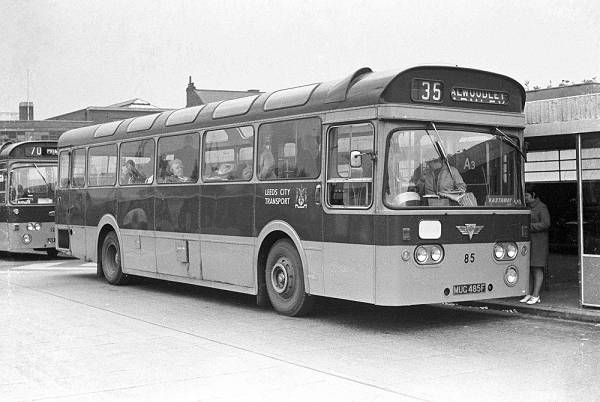 1968 AEC Swift with Roe 48 seat bodywork