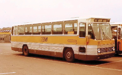 1968 Leyland LVB668 0.680 carr Roset+Verheul GTW303