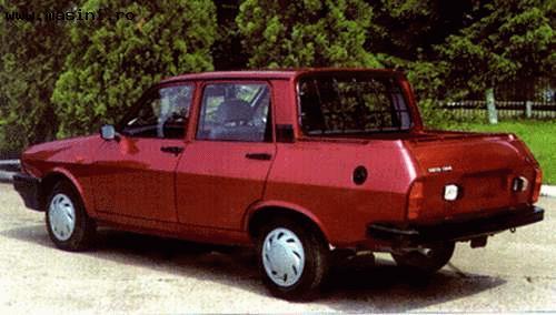 1968 Renault 12 bestel Dacia