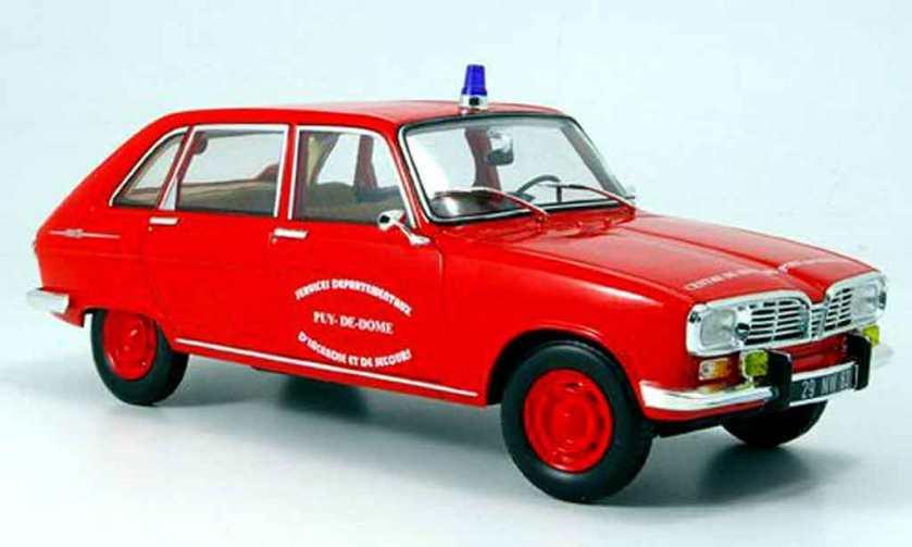 1968 Renault 16 pompiers pont du chateau