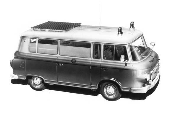 1969 Barkas B1000 Ambulance