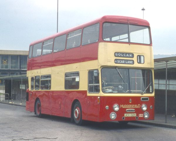 1970 Daimler Fleetline CRG6LX with Roe H45-29D bodywork